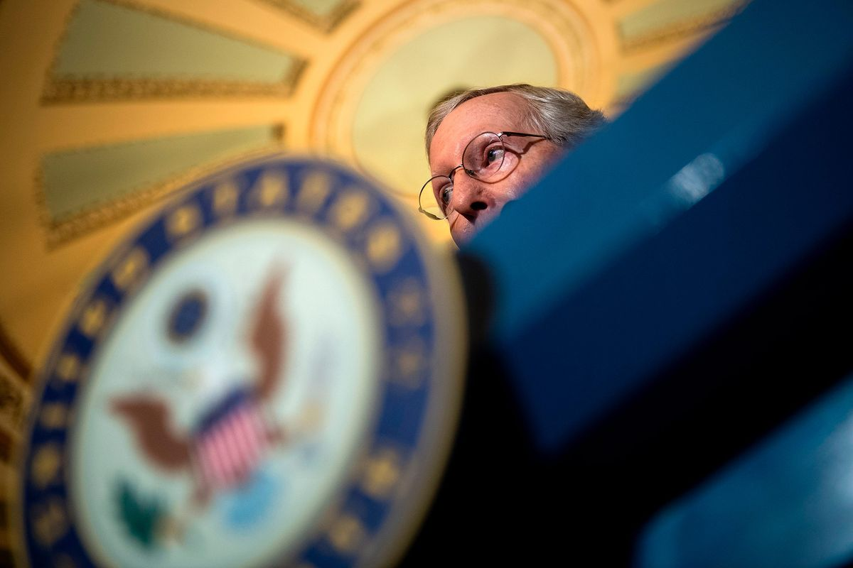 Trump Hands McConnell a Daunting To-Do List to Regain His Favor