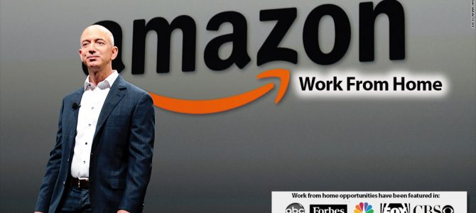 NEW – Work at Home Opportunity with Amazon in Mountain View US